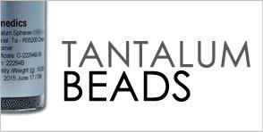 tantalum marker beads