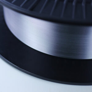 """Tantalum wire 0.6mm 0.0237"""" in diameter. Medical grade ASTM F560 ISO 13782 UNS R05400 Ta - unannealed. The 0.60mm or 237/1000"""" wire is supplied on spool and suitable for automated production"""