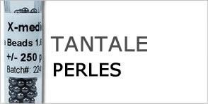 perles de tantale
